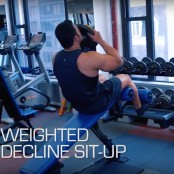 Weighted Decline Situp thumbnail