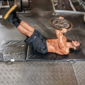 Plate Supine Leg Raise and Hip Thrust thumbnail