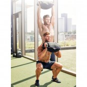 Sandbag Squat and Press thumbnail