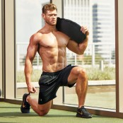 Sandbag Walking Lunge thumbnail