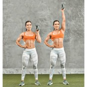 Bottoms-Up Single-Arm Kettlebell Raise thumbnail