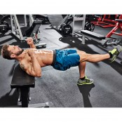 Single-Leg Bench Bridge thumbnail