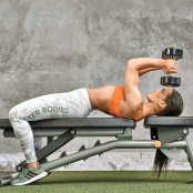 Dumbbell Triceps Extension to Situp  thumbnail