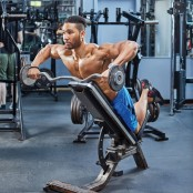 Pronated Incline Upright Row thumbnail