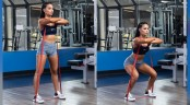 Banded-Front Squat Hers thumbnail