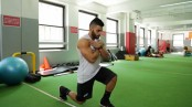 College Muscle Anywhere workout lunge thumbnail