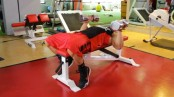 College Muscle Neutral Grip DB Bench Press thumbnail