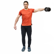 One-Arm Dumbbell Lateral Raise thumbnail