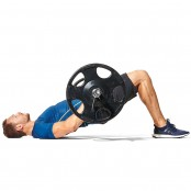 Weighted Glute Bridge thumbnail