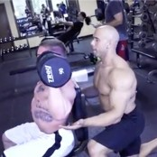 Mass Gains - Seated Dumbbell Press thumbnail