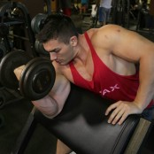 Maxed Out Dumbbell Preacher Curl thumbnail