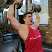 Maxed Out Dumbbell Shoulder Press thumbnail