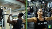 SG18 Barbell Shoulder Press thumbnail