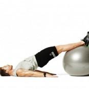 Swiss ball hip extension thumbnail