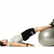 Swiss ball hip extension thumbnail