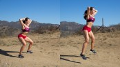 Courtney King bunny hop thumbnail