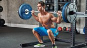 Man Barbell Back Squat thumbnail
