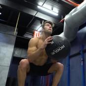 medicine ball squat throw thumbnail