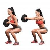 Michelle Lewin Plate Squat  thumbnail