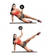 Michelle Lewin Side Kick And Shoulder Press  thumbnail