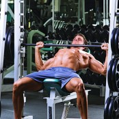 Smith Machine Incline Press  thumbnail