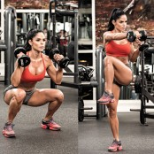 Michelle Lewin Squat Punch  thumbnail