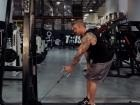 Standing Single-Arm Cable Row thumbnail