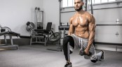 Dumbbell Reaching Lunge with Lateral Raise thumbnail