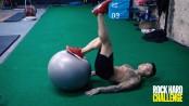 RHC18 Swiss Ball Leg Curl thumbnail