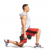 Dumbbell Walking Lunge thumbnail