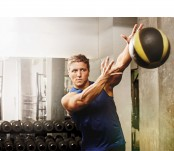 Man Throwing Medicine Ball thumbnail