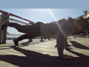 Exercise: How to Do a One-Leg Pushup thumbnail