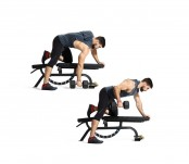 One-Arm Dumbbell Deadstop Row thumbnail