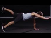 How To Do A Single-Arm, Single-Leg Plank thumbnail