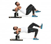 Single-leg hip thrust thumbnail