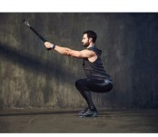 Isometric squat cable high rows thumbnail