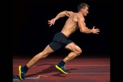 Man sprinting on track thumbnail