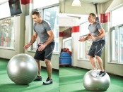 How To Do A Swiss Ball Balance Jump thumbnail