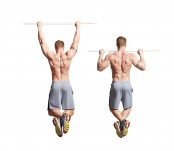 Wide-Grip Pullup  thumbnail
