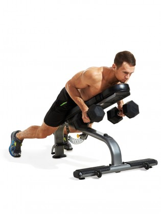 Incline Dumbbell Row Video Watch Proper Form Get Tips