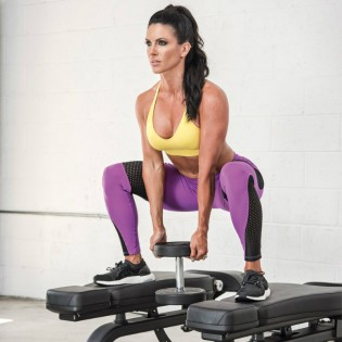 Wondrous How To Perform Between The Bench Squat Muscle Fitness Gmtry Best Dining Table And Chair Ideas Images Gmtryco