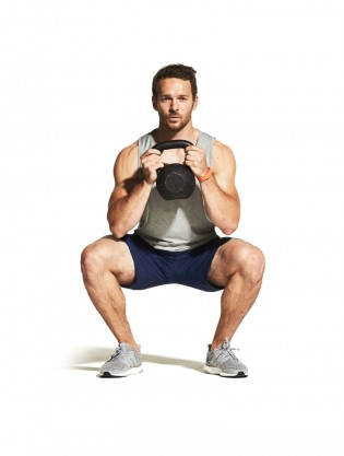 Kettlebell Squat Video - Watch Proper Form, Get Tips & More | Muscle