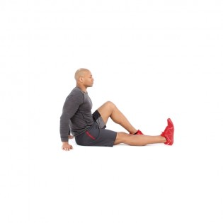 hamstring stretch video  watch proper form get tips