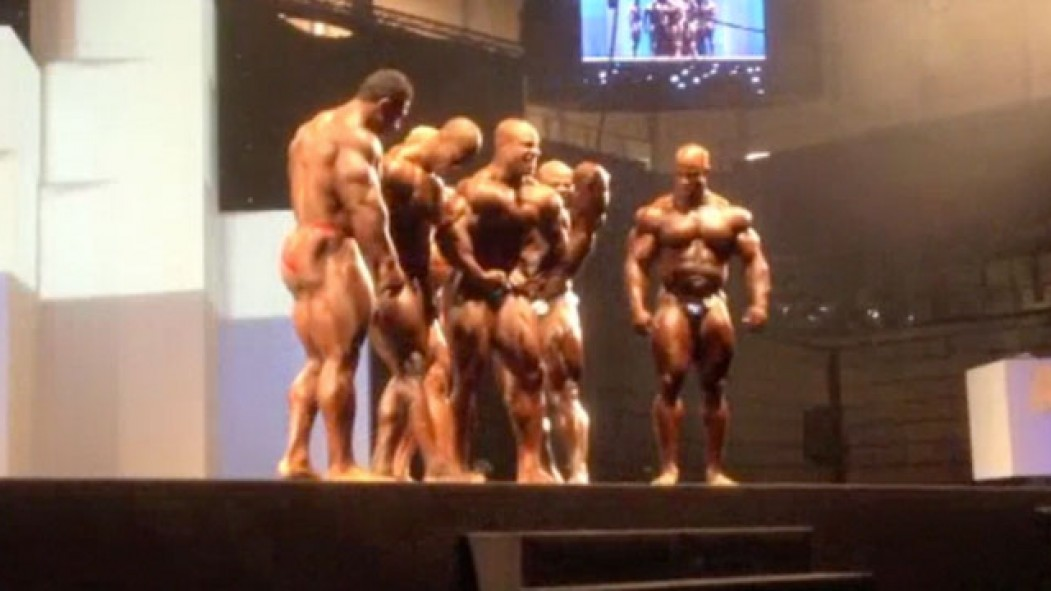 Posedown Madness at the Arnold Classic Europe Video Thumbnail
