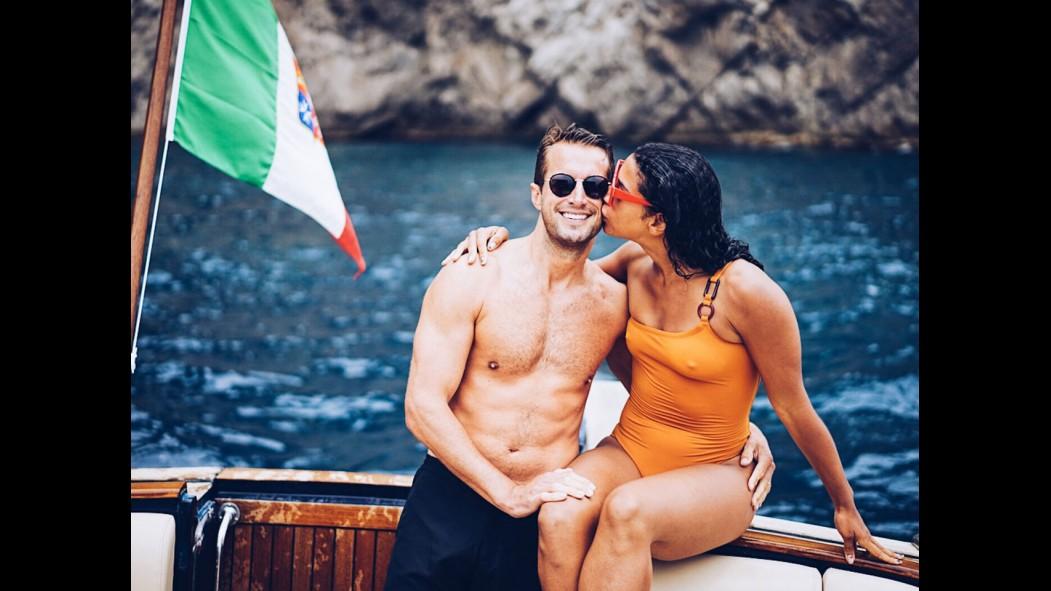 Brendan Fallis with wife Hannah Bronfman thumbnail