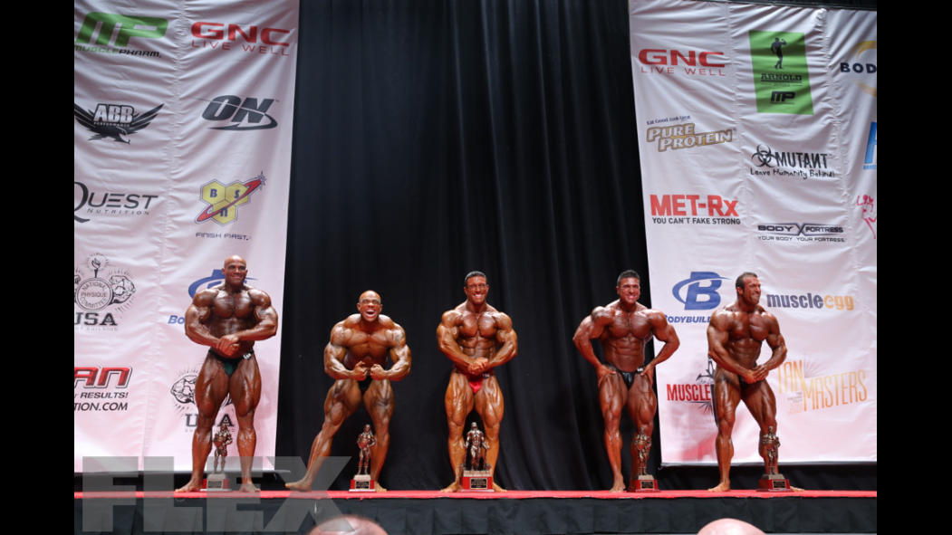 Men's Bodybuilding Super Heavyweight Awards thumbnail