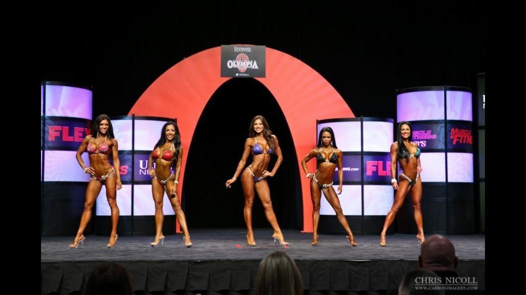 2014 Olympia Bikini Pre-Judging Call Out Report thumbnail