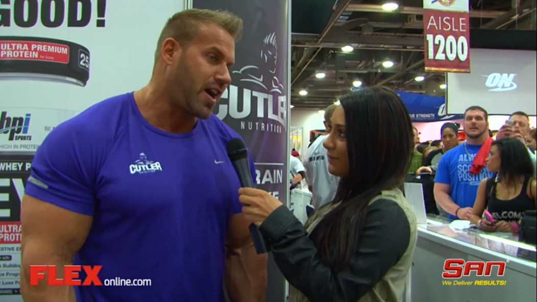 Arnold Expo Madness: Jay Cutler thumbnail