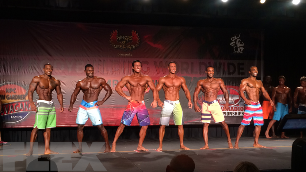 Men's Physique Prejudging Call Out Report thumbnail