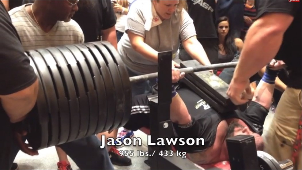 2014 NPC Flex Lewis Classic Bench Press Exhibition thumbnail